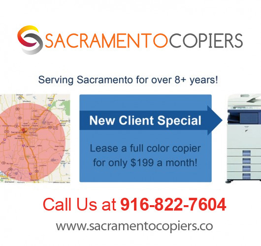 Roseville Color Copiers- Summertime New Client Special