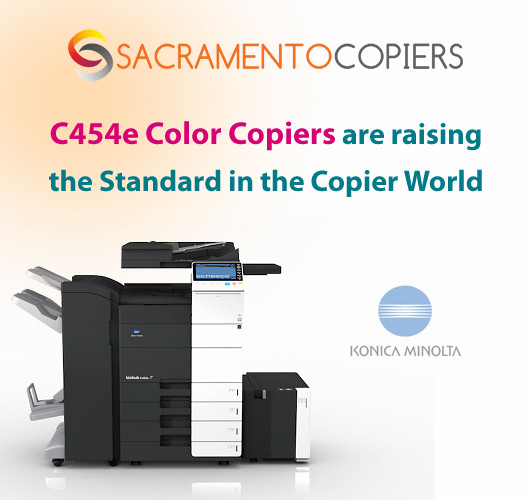 Konica Minolta C454e Color Copiers are raising the Standard in the Copier World!