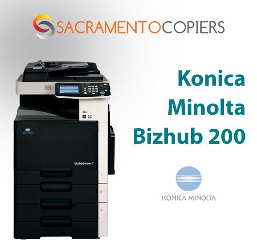 Konica Minolta Bizhub 200